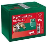 Elektrikarjuse patarei 9V/55 Ah Alkaline