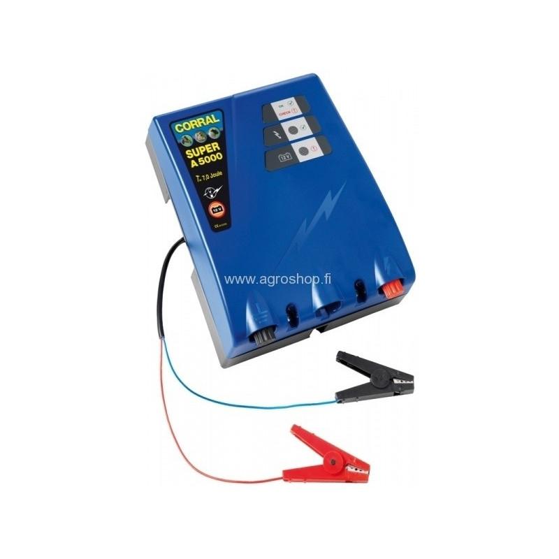 Akkukäyttöinen sähköpaimen Corral Super A5000