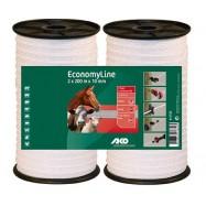 Sähköpaimenen aitanauha 10 mm/200 m DUO pakkaus