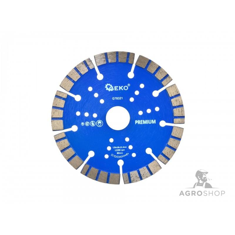 Timanttiterä GEKO Premium 125mm