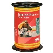 Sähköpaimenen aitanauha TopLine Plus 10mm/200 m