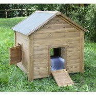 Kanien ja siipikarjan talo 105x100x108cm